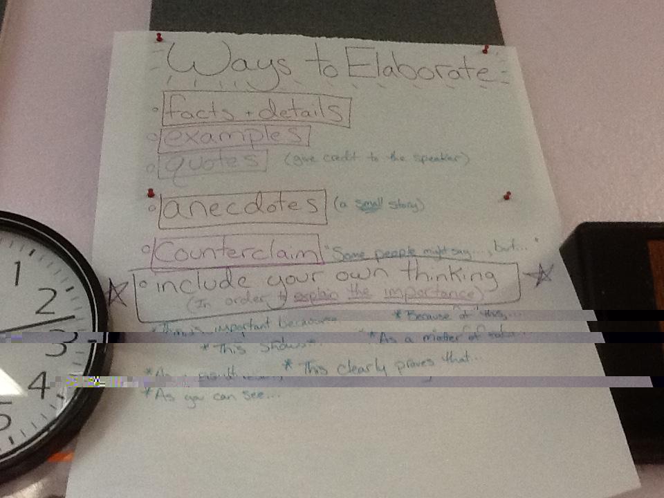 transition words for elaboration