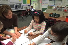 First Grade Guided Writing Group: Goldilocks and the Three Writers